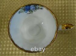 Royal Albert Moonlight Rose 21 Piece English Bone China Tea Set 1987