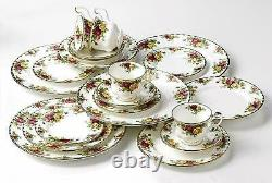 Royal Albert Old Country Roses 20 Piece Dinner Set Service Plates Tea Cups