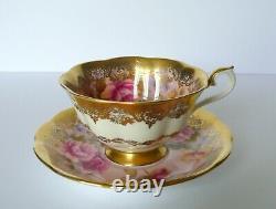 Royal Albert PORTRAIT SERIES Pink Floral Tea Cup & Saucer Set