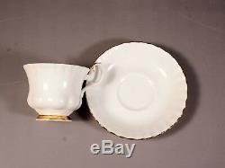 Royal Albert Val D'Or Coffee Tea Set Plates Platter Cup Saucer Teapot Sugar