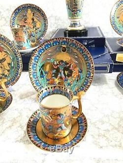 Royal Worcester Legends & Wonders Of The Nile Egyptian Collection Set