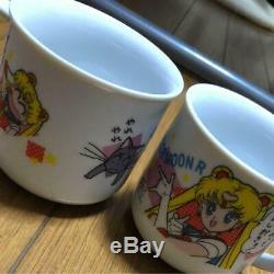 Sailor Moon Cup Set Mug 2 teacup 2 Usagi Tsukino Japan Animation kawaii F/S