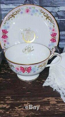 Sailor Moon Noritake Premium Bandai Collaboration Tea Cup Saucer Set