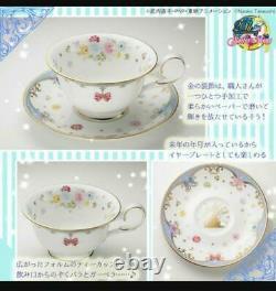 Sailor Moon Premium Bandai Noritake Collaboration 2016 Tea Cup saucer set #0755