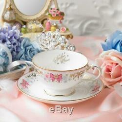Sailor Moon premium Bandai Noritake Collaboration Tea Cup saucer set F/S JAPAN