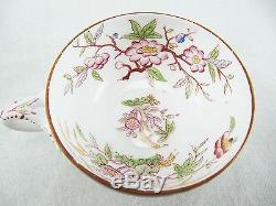 Sarreguemines Teacup And Saucer Set Minton 217 Plus Dessert Plate 247