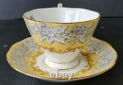 Scarce Royal Albert Affection Teacup and Saucer Set Bone China England RARE