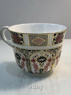Set Of 8 Royal Crown Derby Old Imari Tea Cups/Saucers 1st Quality Storage Cases