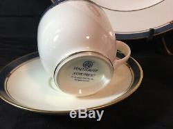 Star Trek VI Pfaltzgraff 3 Piece Set Excelsior L/E Plate Teacup Saucer 1993