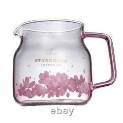 Taiwan Starbucks Limited 2021 Sakura Cherry Blossom Tea Pot Cup Set New