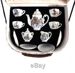 Tea Alice Wonderland Set Cardew Paul New Design 2 Cups Cup Saucer Miniature