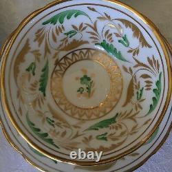 Tiffany & Co. Grosvenor Handpainted Dorian Tea Cup & Saucer Sets (7) England