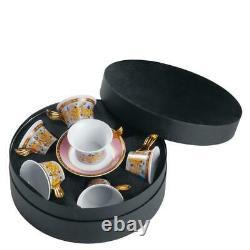 Versace Butterfly Garden Tea Cup & Saucer Set of 6