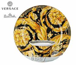 Versace Rosenthal Asian Dream Set Decorative Plate 22 cm+Tea Cup 25 YEARS
