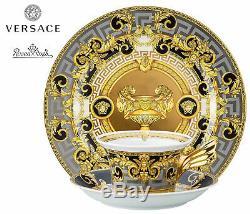 Versace Rosenthal Prestige Gala Set Decorative Plate 22 cm+Tea Cup 25 YEARS