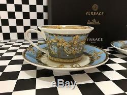 Versace Tea Cups Coffee Cup Set 2/2 Coffee Mug Rosenthal Prestige Gala Le Bleu