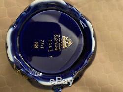 Vintage Antique Lindner Bavaria Germany Echt Cobalt 3 Pc Tea Set MINT Condition
