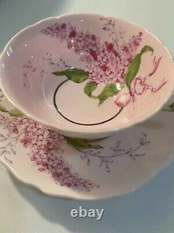 Vintage Paragon Lilac Teacup And Saucer Set Purple Pink