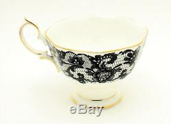Vintage Royal Albert England Senorita Trio Set Tea Cup + Saucer + Side Plate