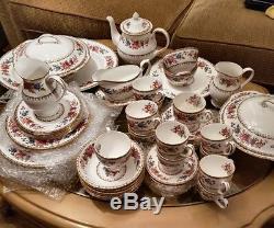 Vintage Royal Grafton Malvern Jug -plate-sugar Bowl-tea Cup/ Large Dining Set
