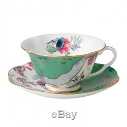 Wedgwood Butterfly Bloom Butterfly Posy Teacup & Saucer Set of 4