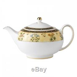 Wedgwood India Collection Peony Tea Set Teapot, Teacup & Saucers RRP $1608.00