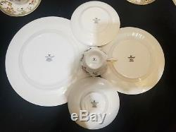 Wedgwood Oberon 20Pc Dinnerware China Plate Teacup Luncheon Set Service for 4