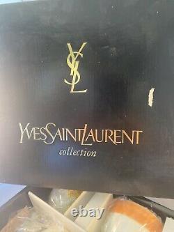 Yves Saint Laurent Vintage Tea Set Yamaka Japan Rare YSL New In Box